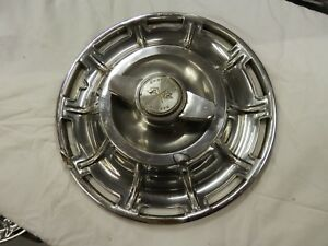 1959 1960 1961 1962 Corvette Original Wheel Cover Hubcap With Spinner 2