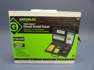 New Greenlee Power Finder Closed Circuit Tracer 9 300 V Ac dc 2007