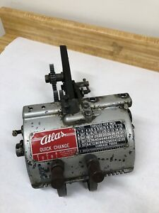 Atlas Craftsman 10 Lathe Quick Change Gear Box And Reversing Tumbler