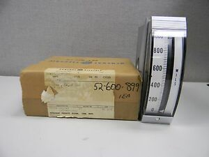 General Electric 50 18013eczz1 Edgewise Instrument