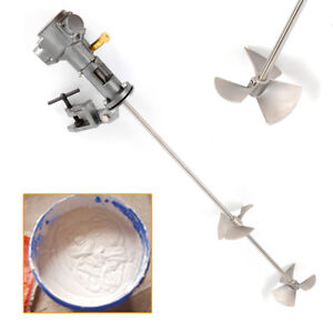 50 Gallon Pneumatic Ink Mixer Stirrer Agitator Paint Mixing Tool Blender 1 2 Hp