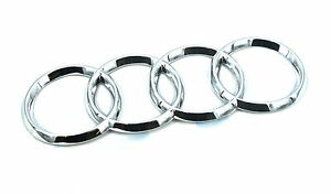 Genuine New Audi Boot Badge Rings Emblem For A5 Coupe 2016 Tdi S line Quattro