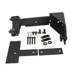 Rear Hi lift Jack Mount Holder Heavy Duty For Jeep Wrangler 2007 2018