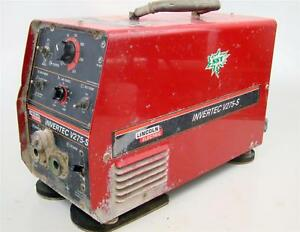 Lincoln Cc Tig stick Welder 270 Amp 1 Or 3ph Tweco Invertec V275 s
