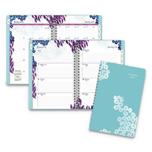 Wild Washes Weekly monthly Planner 5 1 2 X 8 1 2 Floral Animal 2019