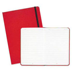 Casebound Hardcover Notebook Legal Rule Red Cover 8 1 4 X 5 3 4 71 Sheets pd