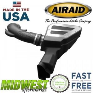 Airaid Cotton Gauze Cold Air Intake System Fits 2018 Ford Mustang Gt 5 0l V8