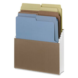 Organized Up Stadium Files W vertical Folders 3 Pockets Letter Assorted
