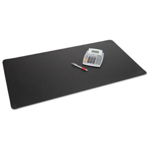 Rhinolin Ii Desk Pad With Microban 24 X 17 Black