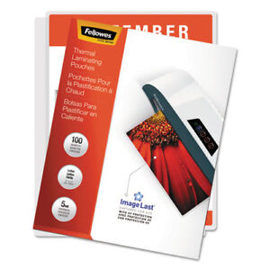 Imagelast Laminating Pouches With Uv Protection 5 Mil 11 1 2 X 9 100 pack