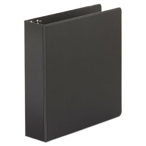 Economy Non view Round Ring Binder 2 Capacity Black 4 Per Pack