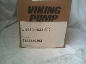 Viking Pump Sg40510g0v Spur Gear Pump Factory Sealed