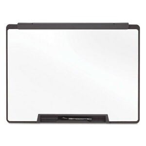Motion Portable Dry Erase Board 36 X 24 White Black Frame