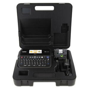 Pt d600vp Pc connectable Label Maker With Color Display And Carry Case Black
