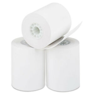 Direct Thermal Printing Thermal Paper Rolls 2 1 4 X 85 Ft White 50 carton