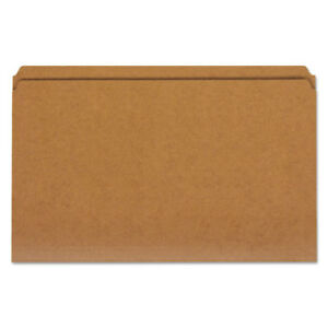 Reinforced Kraft Top Tab File Folders Straight Tab Legal Size Kraft 100 box