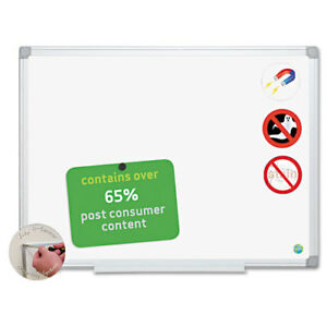 Earth Ceramic Dry Erase Board 24x36 Aluminum Frame