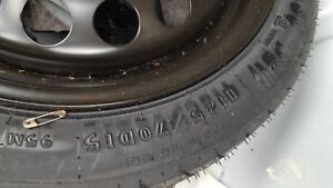 04 05 06 07 08 Chevrolet Malibu 15x4 Compact Spare Wheel And Tire 5172 125 70d15