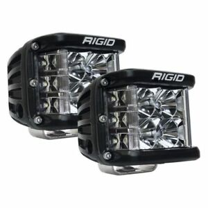 Rigid Industries Dually Side Shooter Led Spot Light Cube 262113 Pair