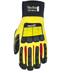 Cestus Armored Gloves Tow Grip 201 Winter 5081 Impact Protection