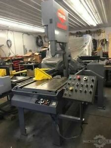Marvel Model E2125a pc60 Automatic Vertical Tilt frame Band Saw