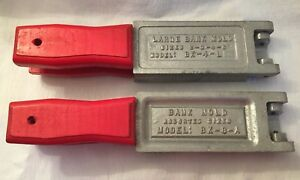 Lot of 2 Do-It Corporation Bank Molds for Lead Sinker Fishing Weights