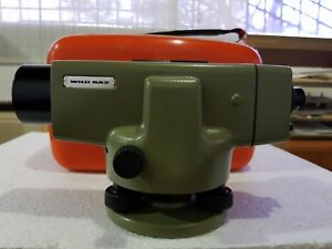 Wild Leica Auto Level Model Na2 High Accuracy Precision Level Certified