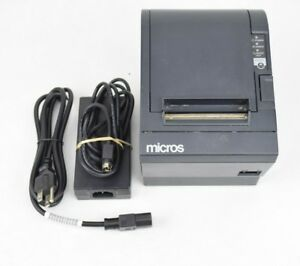Micros Tm t88iii Pos Recieipt Printer M129c Point Of Sale Dot Matrix