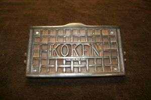 Koken Barber Chair Upper Footrest