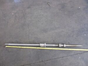 05 Daewoo Doosan Z290 Cnc Lathe 59 Inch Ballscrew Ball Screw