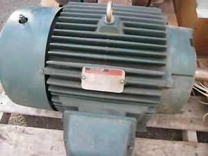 30 Hp Reliance Ac Electric Motor Frame 286t 1765 Rpm Tefc