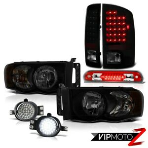 02 05 Dodge Ram 2500 3500 3 7l Headlamps Fog Lights Roof Cab Lamp Taillights