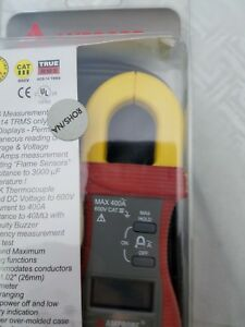 Amprobe Acd 14 Fx Dual Display Digital Clamp Multimeter With Temperature New