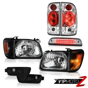 2001 2004 Toyota Tacoma Prerunner Third Brake Lamp Taillights Headlights Bumper