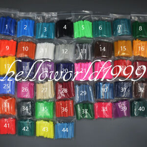 45 Bags Dental Orthodontic Ligature Ties Elastic Rubber Bands 45 Colors 1040 Pcs