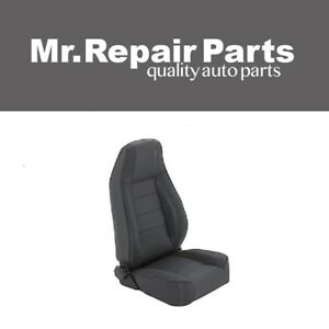 Smittybilt For 76 06 Jeep Cj Yj Tj Factory Replacement Seat W Recliner 45015