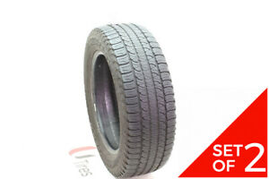 Set Of 2 Used 235 60r18 Goodyear Fortera Hl 102t 6 7 5 32