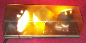 Responder Ii Dx Amber Strobe Light Bar R2dxm Magnetic