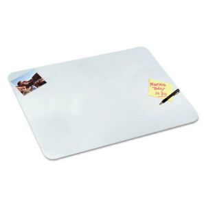 Clear Desk Pad 17 X 22 Clear Polyurethane