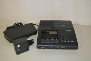 Sony Bm 840 Transcriber With Foot Pedal And Power Supply