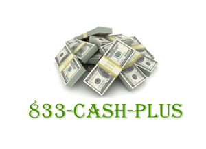 833 cash plus Vanity Toll Free Numbers Catchy Brand No Domain Think 877 cash now