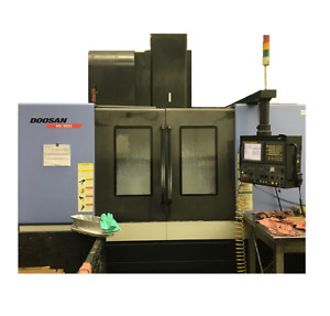Doosan Mv5025 Used Cnc Vertical Machining Center