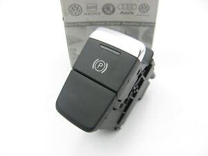 New Genuine Electronic Parking Brake Switch Button Oem Audi 4h1927225a