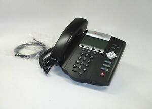 Polycom 2200 12450 025 Soundpoint Ip 450 Voip Poe Full duplex Corded Phone New