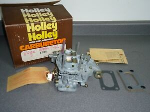 New Nos Holley 5210 2 barrel Carburetor Carb 8294 1974 Chevy Chevrolet Vega 2 3l