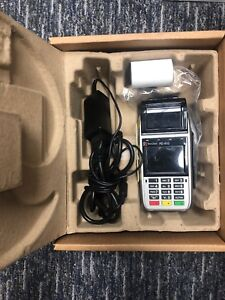 First Data Fd410 Emv Wireless Credit Card Used Great Unit Good Shape