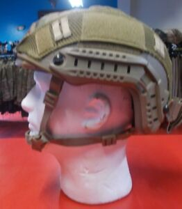 OPS CORE FAST HELMET HIGH CUT MULTICAM COVER 3 HOLE SHROUD ML SKELETON HC XP