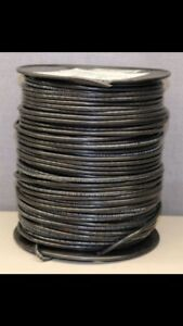 New 10 Awg Black Stranded Wire 1000 2 500 Rolls Free Shipping