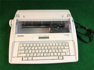 Brother Ml300 Electronic Display Portable Typewriter tested And Working Great