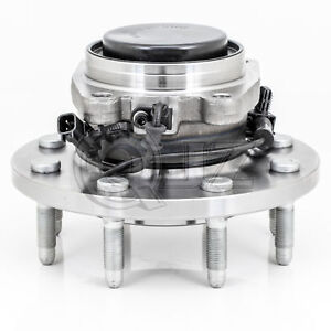 For 2011 2016 Chevrolet Silverado 3500hd 2wd Srw Front Only Wheel Hub Assembly
